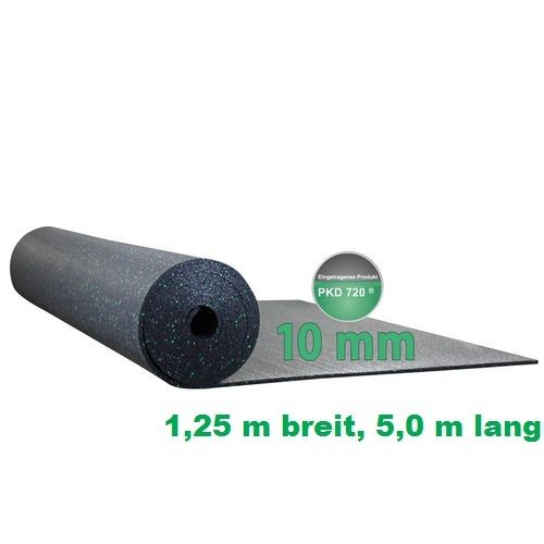 8 mm stark PKD 720 Antirutschmatte 1,0 X 1,0 m